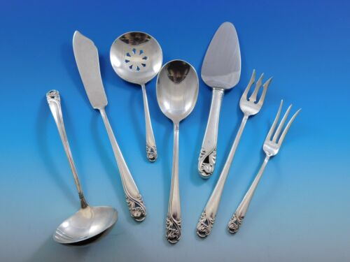 Spring Glory by International Sterling Silver Essential Serving Set Small 7-pc
