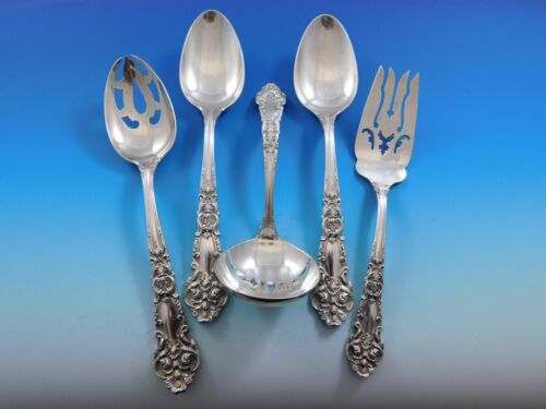 French Renaissance by R&B Sterling Silver Essential Serving Set Large 5-piece