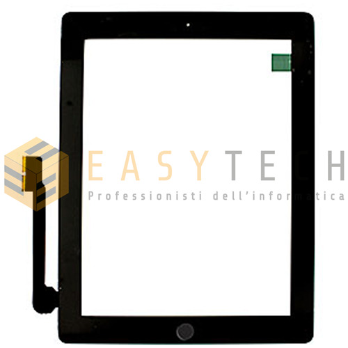 TOUCH SCREEN Per Apple iPad 3 A1430 A1416 A1403 WiFi 3G VETRO Tablet Nero GLS!