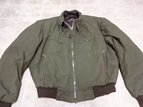ORIGINAL VINTAGE 50'S ARMY TANKER JACKET GREAT COND NOT MUCH USED Original Period Items - 586
