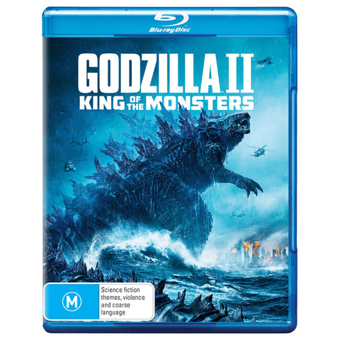 Godzilla 2 King of the Monsters (Blu-Ray, 2019)