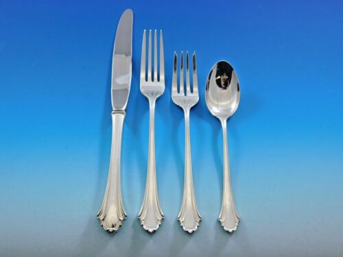 Bel Chateau by Lunt Sterling Silver Flatware Set for 6 Service 24 pieces