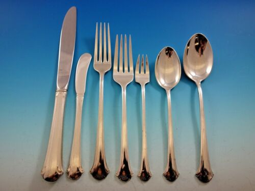 Chippendale by Towle Sterling Silver Flatware Set for 8 Service 59 Pieces