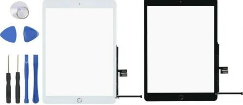 Digitizer Touch Screen Glass Replacement For Apple iPad 7th 2019  + Home Button