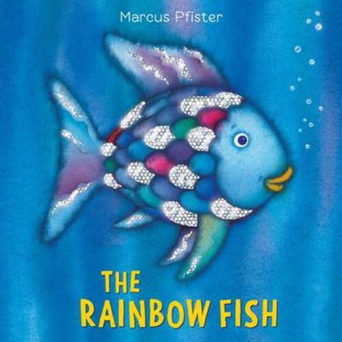 The Rainbow Fish by Marcus Pfister (English) Board Books Book Free Shipping!