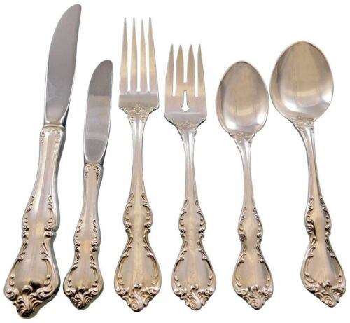 Debussy by Towle Sterling Silver Flatware Set for 8 Service 57 pcs