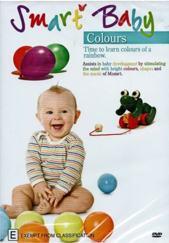 Smart Baby - Colours - Educational - DVD Pal All Regions 🇦🇺 Brand New Sealed