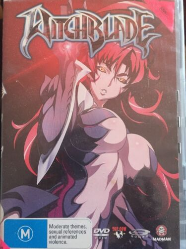 WITCHBLADE Vol 1 DVD - Very Good Condition - Japanese Anime - 4 Eps. - Free Post