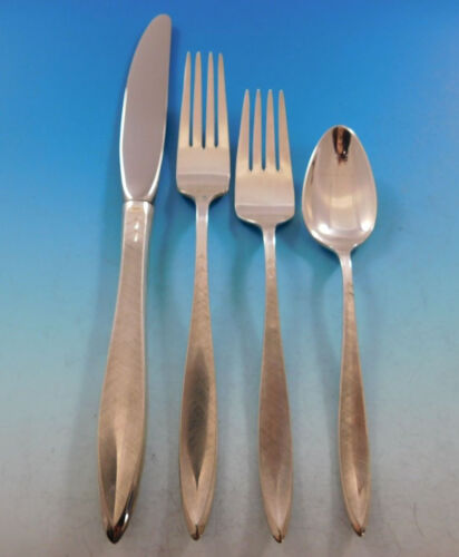 Gossamer by Gorham Sterling Silver Flatware Set for 6 Service 24 pieces