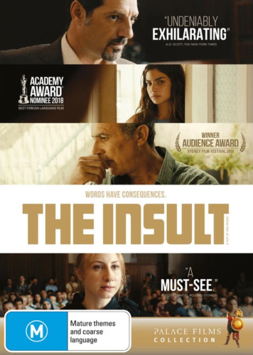 The Insult (DVD, 2019)