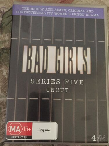 Bad Girls Series 5 uncut -  4 dvds-  DVD - controversial women's prison drama
