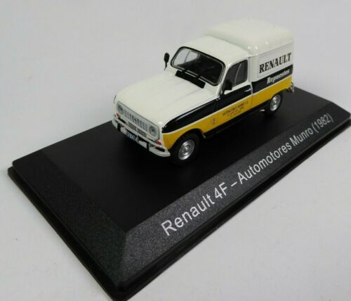 Renault 4F Automotores 1982 (4L) 1/43 Voiture Miniature SALVAT Model Car SA08