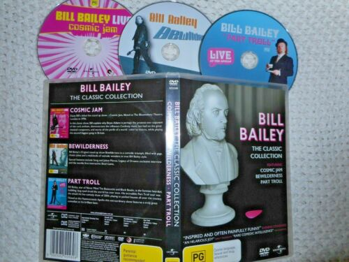 BILL BAILEY. The Classic Collection. (3 disc set)
