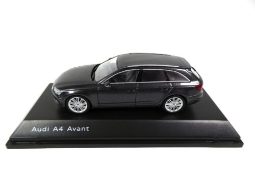 Audi A4 Avant Daytona Grey 1/43 Spark Dealer Pack Voiture Model Car 4233