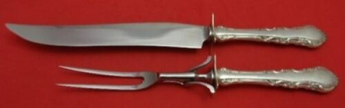 Georgian Rose by Reed & Barton Sterling Silver Roast Carving Set 2pc