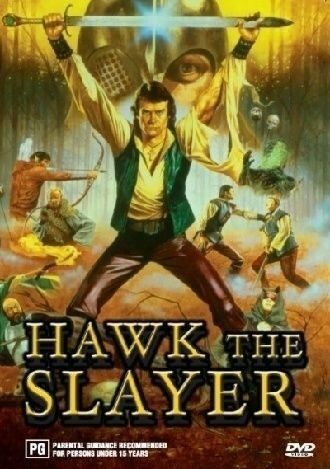 HAWK THE SLAYER - DVD - DELETED MOVIE - REGION 4 - LIKE NEW