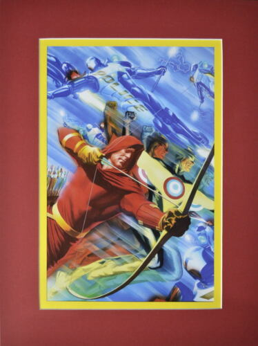 PROJECT SUPERPOWERS Chapter 1 #5 PRINT Pro MATTED Alex Ross Arrow Target