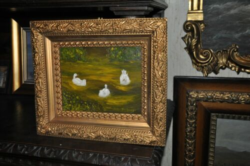 Vintage Original  Duck Painting  By well known Artist