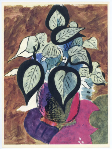 Georges Braque lithograph for Carnets Intimes  78978911