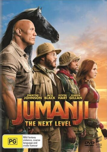 Jumanji: The Next Level [Like New] (DVD, 2020)