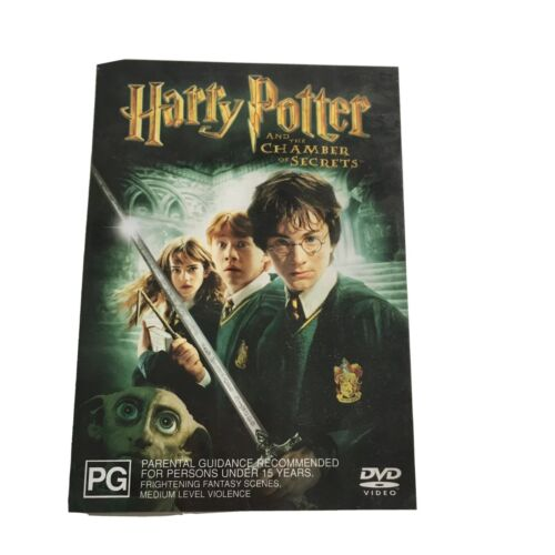 Harry Potter and the Chamber of Secrets DVD PG 2-Disc Edition 155 mins cd-rom PC