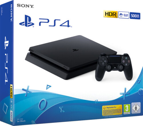 Playstation 4 Slim 500GB + Rachet & Clank + The Last Of Us Remastered + Uncharted 4