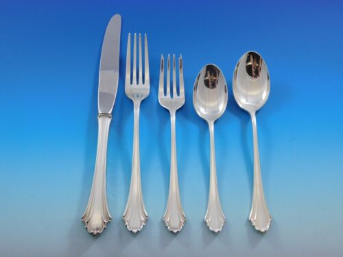 Bel Chateau by Lunt Sterling Silver Flatware Set for 4 Service 20 pieces