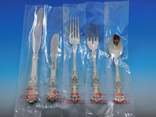 Buttercup by Gorham Sterling Silver Flatware Service Set 48 pcs Place Size New