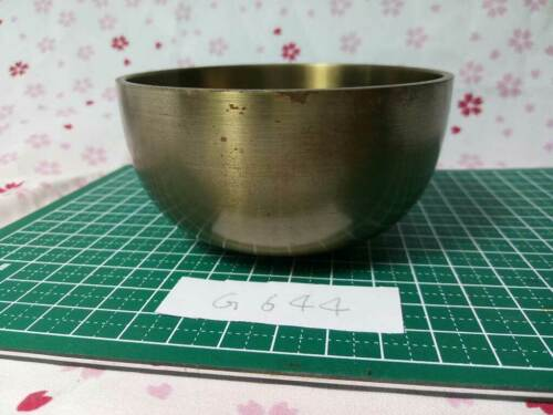"""3.445"""" Japanese Vintage Buddhist Bell Gong Rin G644 Traditional Tone Good Buy"""