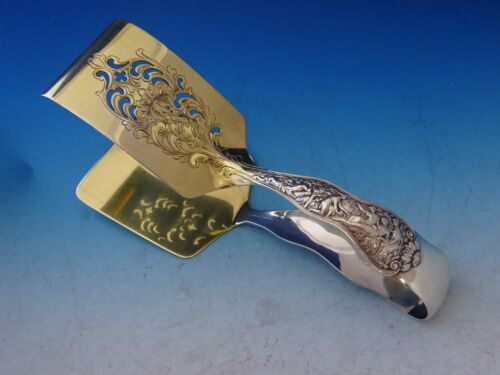 """Olympian by Tiffany and Co Sterling Silver Asparagus Serving Tong GW BC 7 1/2"""""""