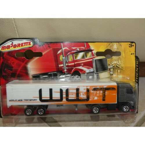 CAMION VOLVO FH16 TRANSPORTER WWT MAJORETTE 340 1:100