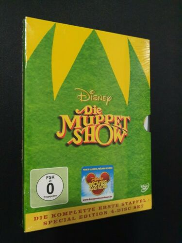 The Muppet Show - Season 1 (DVD, 2005, Special Edition) COMPLETE FIRST SEASON