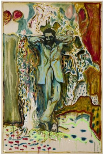 BILLY CHILDISH 'Man Stood by Tomb', 2013 SIGNED Limited Edition Print **NEW**