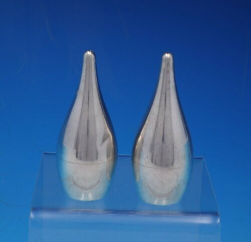 Starlit by Allan Adler Sterling Silver Salt and Pepper Shaker Set 2pc (#4721)