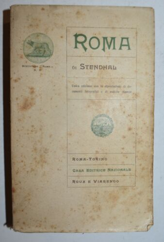 STENDHAL - fig. 1906 - ROMA