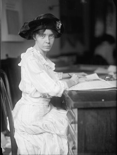 Alice Paul Photograph - Vintage Photo from 1915