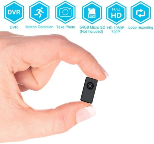 Spy Hidden Wireless Security  Mini Camera Body Worn Video Recorder Nanny Camera