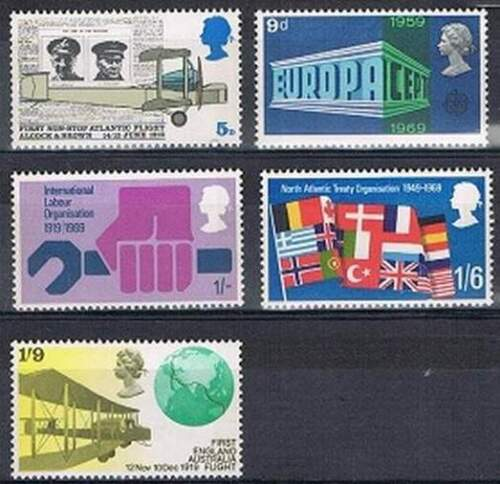 Engeland postfris 1969 MNH 511-515 - Events on Stamps