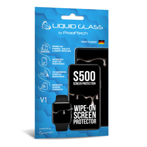 Liquid Glass Screen Protector with $500 Screen Protection Guarantee - Universal