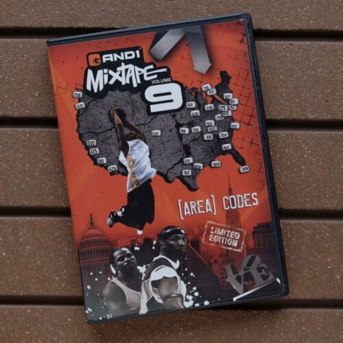 AND1 Mixtape Volume 9 [AREA] CODES | Promo DVD Limited Edition Streetball