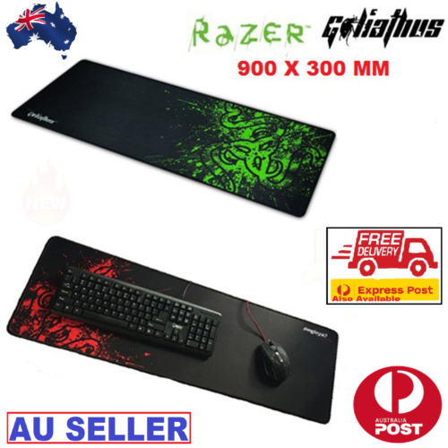 Gaming Mouse Pad Large Non-Slip Water-Resistant Rubber Base Cloth Computer Mouse