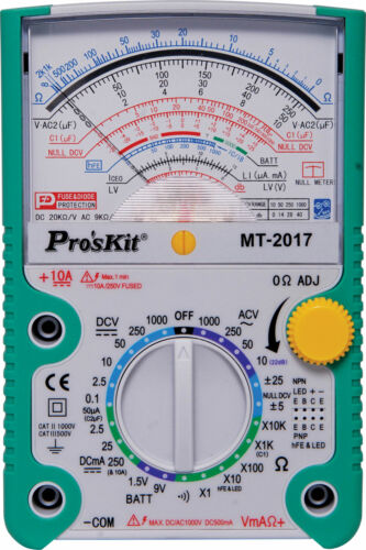 Analogue Multimeter With Transistor Test