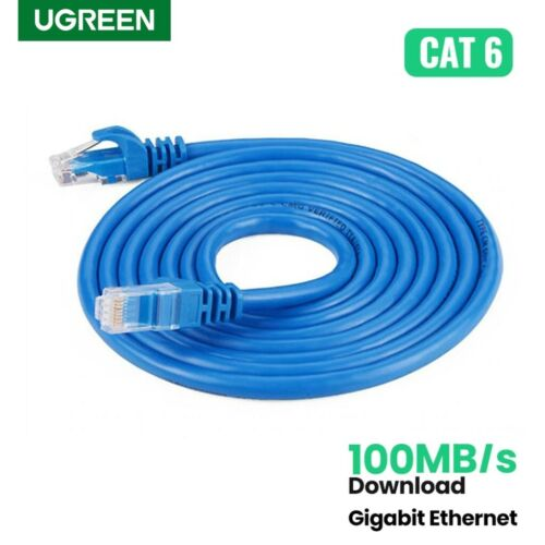 Ugreen Ethernet Cable Cat6 1000Mbps Network Router LAN Cable RJ45 20m 30m 50m