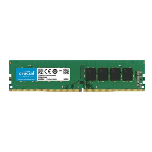 Crucial 16Gb Ddr4 Desktop Memory Pc4 19200 2400Mhz