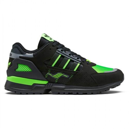 adidas Originals x Jacques Chassaing ZX10000 Black/Solar Green Trainers