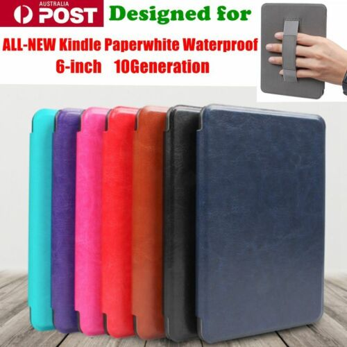 """For All New Kindle Paperwhite 4 Waterproof 6"""" inch 10Gen Handle Cover Case"""