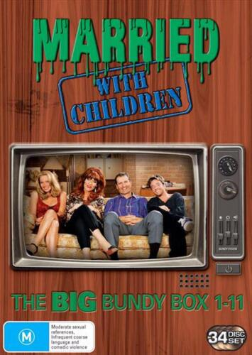 Married With Children : Season 1-11 | Complete Series - DVD Region 4 Free Shippi