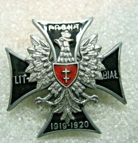 /Poland Polish Army 1st Lithuanian–Belarusian Division badgeReproductions - 156372