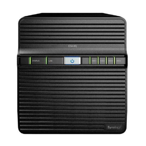 Synology DiskStation DS420j 4Bay 3.5inch 1xGbE NAS 64-bit 4core 1.4 GHz procesor