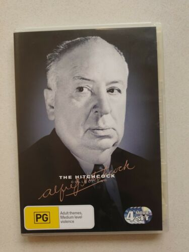 THE ALFRED HITCHCOCK COLLECTION | 4 DISC DVD | VGC | **